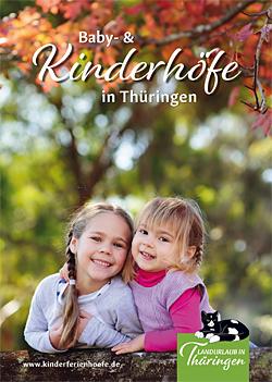 """Broschüre """"Baby- und Kinderhöfe in Thüringen"""""""