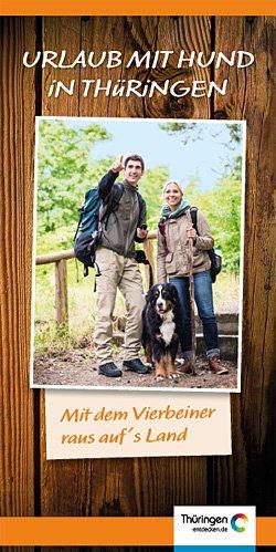 """Broschüre """"Urlaub mit Hund in Thüringen"""""""